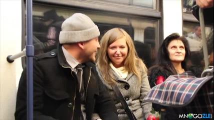 Предложение за брак в Софийското метро