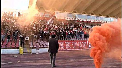 Ултрасите на ЦСКА надъхаха отбора преди мача с Левски