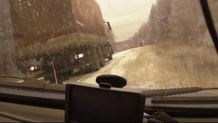 Господ или добрата реакция запази този шофьор от катастрофа!