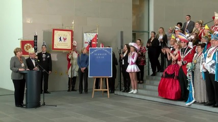 Germany: Merkel and carnival clubs celebrate 5th carnival season