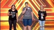 """Трио """"Парадайс"""" - Наташа, Сонай, Иванка - X Factor кастинг (10.09.2015)"""