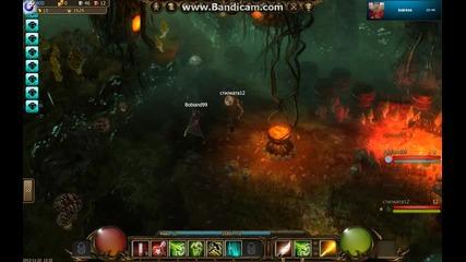 Drakensang Gameplay - хегъстоув скалите