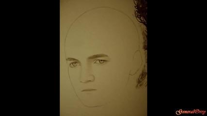 Drawing Game of Thrones 2 Jon Snow, Robb, Tyrion, Ned, Joffrey, Jaime, Jorah, Jaqen, Stannis, Tywin