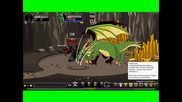 Adventure Quest Worlds - yyoan2 vs. Greenguard Dragon