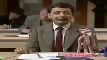 Мистър Бийн на изпит. Всеки от нас се е чувствал така на тест!!!