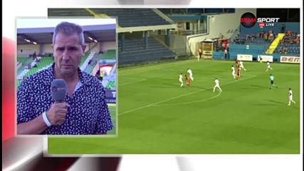 Димитър Димитров: Със селекцията Лудогорец е няколко крачки напред