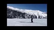 Кобрата се спуска по пистите на Банско (видео)