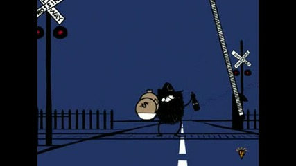 Crime Time The Bank Robbery(crime Time Funny Animation)