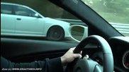 Bmw M6 Evotech vs Audi Rs6 Evotech ( 80-300 km-h)