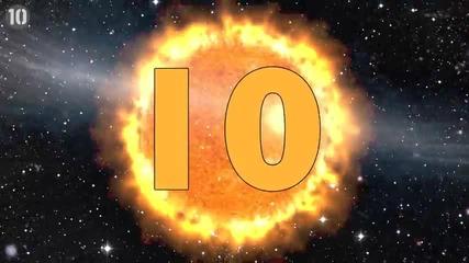 10 изумителни факта за Слънцето