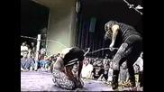 Ecw - Сендмен срещу Мик Фоли - Бодлива Тел вместо Въжета(1995)