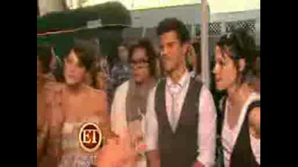 Et Twilight cast at Teen Choice Awards 2009