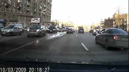 Обир на магистралата - руски стил