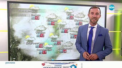 Прогноза за времето (25.10.2020 - сутрешна)