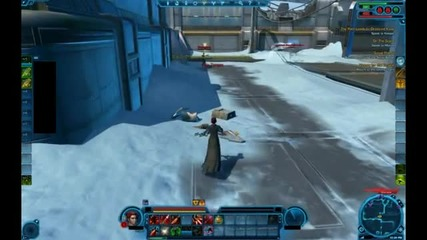 Imperial Agent Sniper Pvp - Star Wars The Old Republic