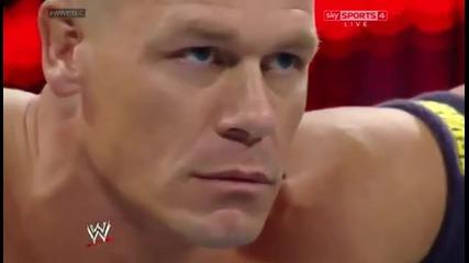 T.l.c John Cena Vs Randy Orton Wwe world Hvc Tlc mach