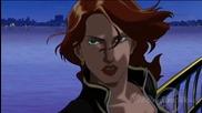 Великата героиня Наташа Романоф / Черната Вдовица от анимациите Върховни Отмъстители 1 и 2 (2006)