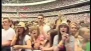 На живо! Justin Bieber - Baby ( Стадион Уембли, Англия ) 06.06. 2010