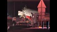 """Самолет се разби на летище """"Внуково""""  в Москва, четирима души са загинали"""
