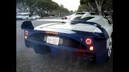 Екзотични коли в Бевърли Хилс - Bugatti Mc12 lambos и повече