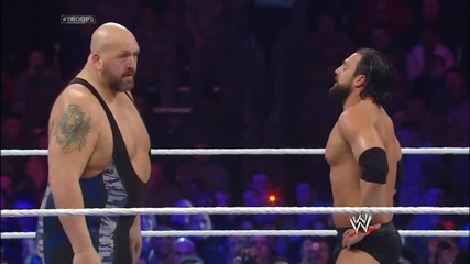 Big Show vs. Damien Sandow- Tribute to the Troops 2013
