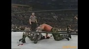 Dudley Boyz w/ Stacy Keibler vs. Perry Saturn & Sgt. Slaughter - Wwf Heat 13.01.2002