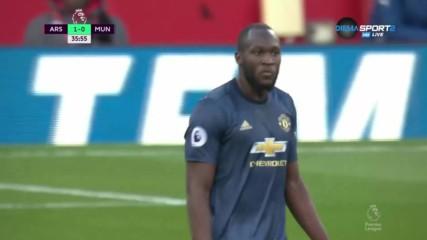 Арсенал - Манчестър Юнайтед 1:0 /първо полувреме/