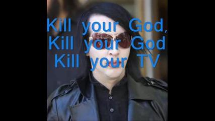 Marilyn Manson - Astonishing Ponorama Of The Endtimes.wmv