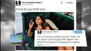 Kim Kardashian's Baby Bump Throws Shade?