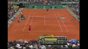 Roland Garros 2008 : Федерер - Анчич