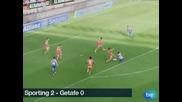 """Първа победа за """"Спортинг"""" (Хихон) от седем мача – 2:0 срещу """"Хетафе"""""""