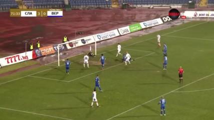 Преднината са Славия продължава да расте, Мицански с втори гол