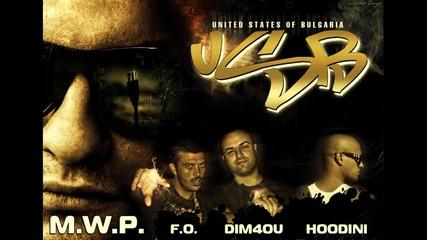 M.w.p. ft. Dim4ou , F.o. , Hoodini - Usb (united States Of Bulgaria)