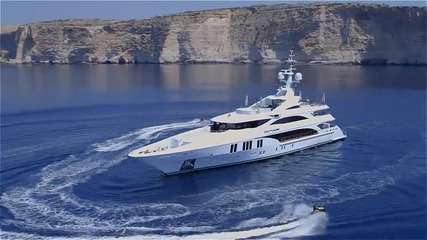 55 метровата яхта Бенети - Benetti Ocean Paradise