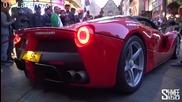 Звукът при стартиране на двигателите на най-добрите супер коли на планетата