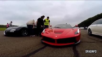 Битката на титаните: Ferrari Laferrari Vs Bugatti Veyron