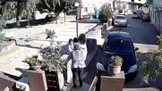 Greece: CCTV camera footage shows moment 5.8-magnitude hits Crete