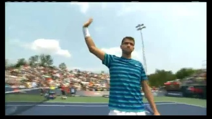 07.8 Григор Димитров победи испанеца Томи Робредо и е на 1/4 финал в Торонто