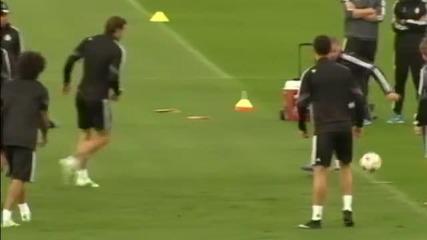 ВИДЕО: Реал Мадрид се готви за битката с Ливърпул