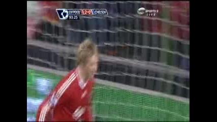 01.02 Ливърпул - Челси 2:0 Фернандо Торес Гол