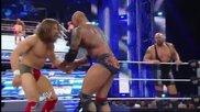 Daniel Bryan & Big Show vs Batista & Kane - Wwe Smackdown 7/3/14