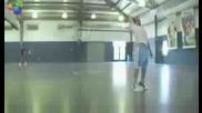 Ще останете без думи невероятно изпълнение с баскетболна топка