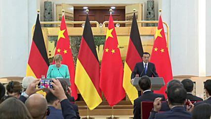 China: Merkel and Li Keqiang express grief for victims of Orlando shooting