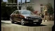 Реклама на New Mercedes E - clas 2010 !!! Само за фенове на Мерцедес !!!!