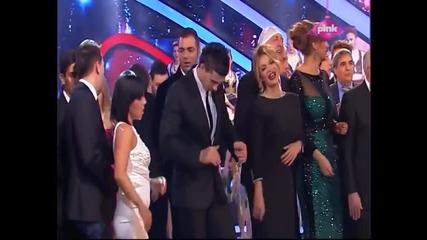 Vesna Zmijanac - Kazni me,kazni - Pinkovo narodno veselje - (TV PINK 31.12.2014)