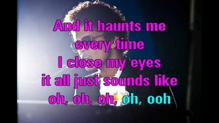 Bruno Mars - When I Was your Man - karaoke