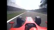 Lap In Monza With Schumacher On Ferrari