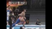 G1 CLIMAX Wataru Inoue & Tiger Mask vs. Yujiro & Tetsuya Naito
