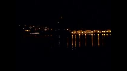Collioure през ноща