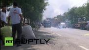 Китай: Смъртоносни експлозии карат стотици жители на Тиендзин да напуснат домовете си